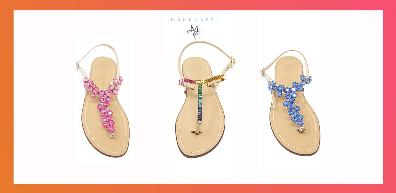 Sandali gioiello handmade: Per essere chic anche senza tacco!