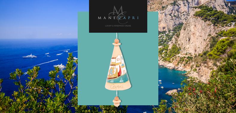Fortuna, artigianalità e leggenda, protagoniste delle esclusive campanelle Capri Bell