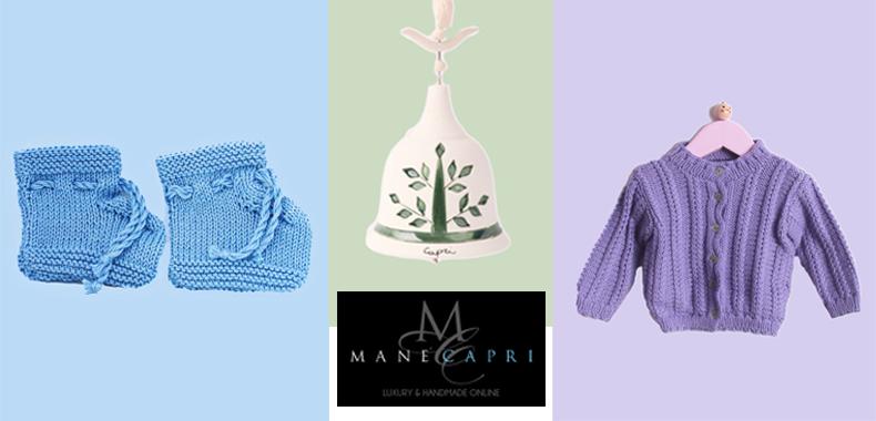 4 Idee regalo artigianali e Made in Capri per neonato